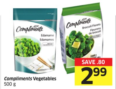 Compliments Vegetables 500 g