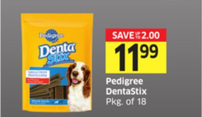 Pedigree Dentastix Pkg of 18