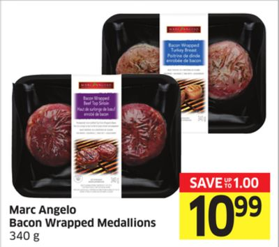 Marc Angelo Bacon Wrapped Medallions 340 g