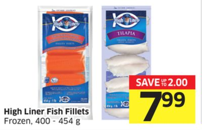 High Liner Fish Fillets