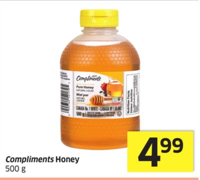 Compliments Honey 500 g