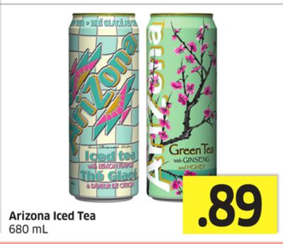 Arizona Iced Tea 680 mL