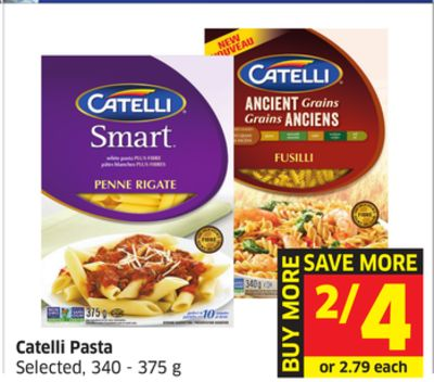 Catelli Pasta Selected - 340 - 375 g
