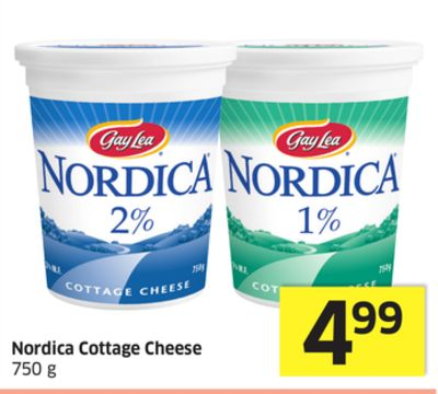 Nordica Cottage Cheese 750 g