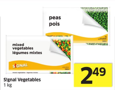 S!gnal Vegetables 1 Kg