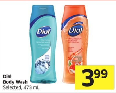 Dial Body Wash Selected - 473 mL