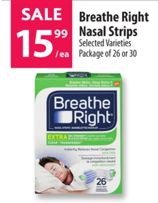 Can look Cns breathe right strips marketing good
