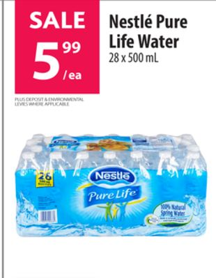 marketing strategy of nestle pure water In this new, expanded role, mr sciuto will lead nestlé waters' four brand business units - nestlé pure life, regional spring waters, international and tea – as well as the company's work in the areas of insights, innovation, ebusiness and consumer affairs.