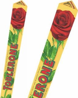 Toblerone Chocolate Rose