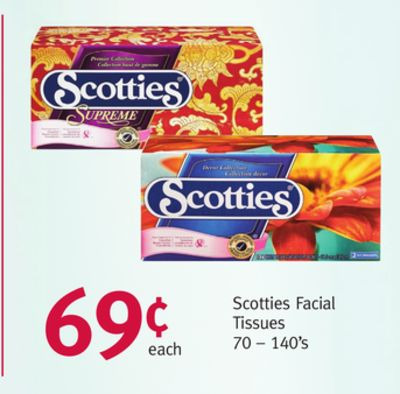 Scotties Facial Tissues 92