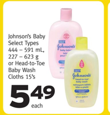 Johnson's Baby on sale | Salewhale.ca