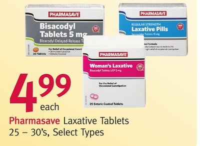 Pharmasave Laxative Tablets