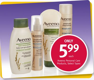 Aveeno Personal Care Products