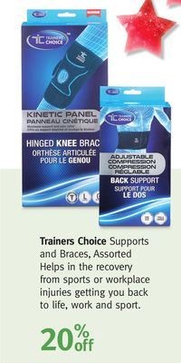 Trainers Choice Supports and Braces