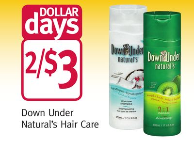 Down Under Natural's Hair Care