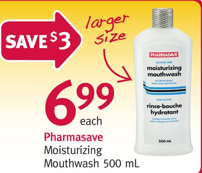 Pharmasave Moisturizing Mouthwash