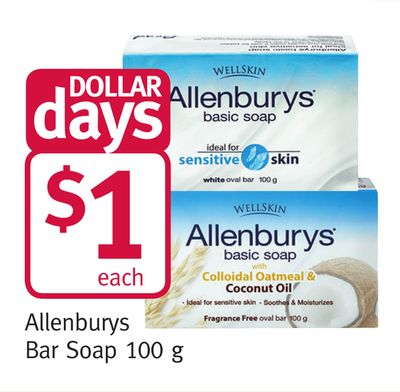 Allenburys Bar Soap