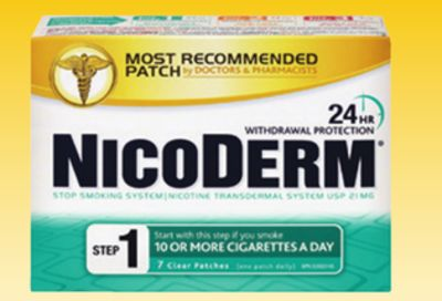 Nicoderm Patches 7 Pack