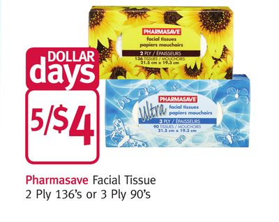 Pharmasave Facial Tissue