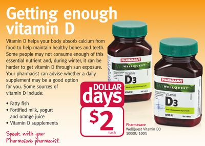 Pharmasave Wellquest Vitamin D3
