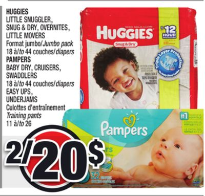 Huggies little snuggler snug dry on sale - Couches culottes pampers ...