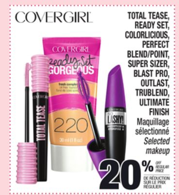 Covergirl total tease ready set on sale for Perfect blend pro scale