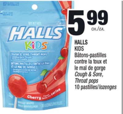 halls kids b tons pastilles contre on sale. Black Bedroom Furniture Sets. Home Design Ideas