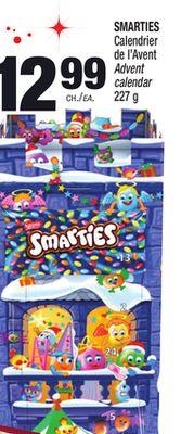 smarties calendrier de l 39 avent on sale. Black Bedroom Furniture Sets. Home Design Ideas