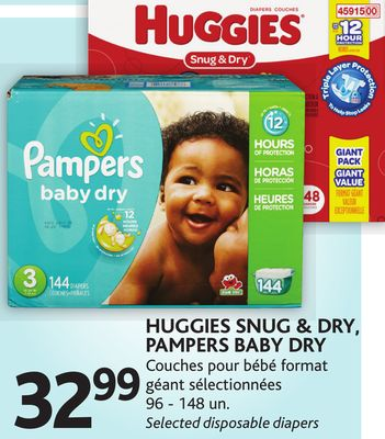 Huggies snug dry pampers baby dry on sale - Couche bebe pour piscine pampers ...