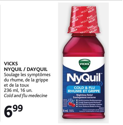 vicks nyquil dayquil soulage les on sale. Black Bedroom Furniture Sets. Home Design Ideas