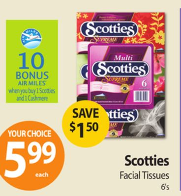 Scotties Facial Tissues 112