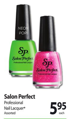 Salon perfect professional nail on sale for Perfect bake pro system