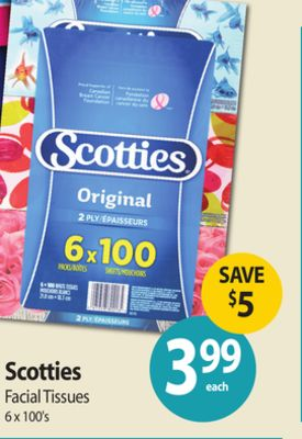 Scotties Facial Tissues 8