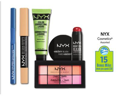 Exclusions: Cannot be combined with any other promotions, sale items, coupons, or with the NYX Professional Makeup Pro Discount. Does not apply to engraving fee. May not be applied to previous purchases. Not valid for LOreal employees. Other restrictions, exclusions or terms may apply.