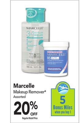Marcelle Makeup Remover? On Sale | Salewhale.ca
