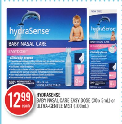 Hydrasense Baby Nasal Care Easy Dose On Sale Salewhale Ca