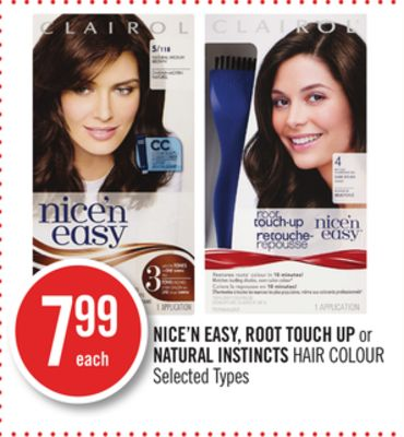 Nice'n Easy - Root Touch Up or Natural Instincts Hair Colour