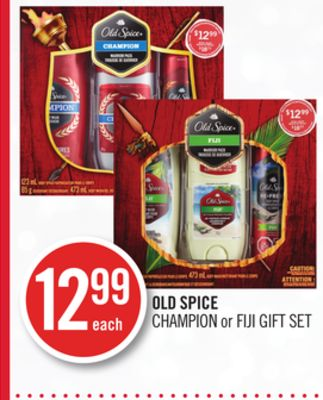 Old Spice Champion or Fiji Gift Set