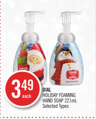 Dial Holiday Foaming Hand Soap