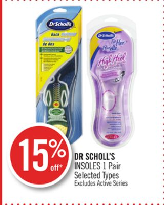 Dr Scholl's Insoles 1 Pair