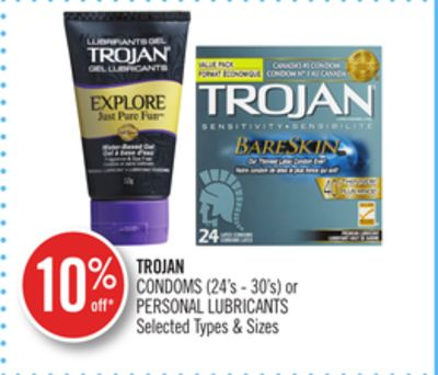 Condoms (24's - 30's) or Personal Lubricants