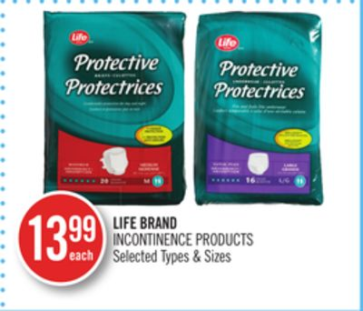 Life Brand Incontinence Products