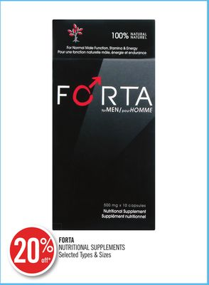 Forta Nutritional Supplements