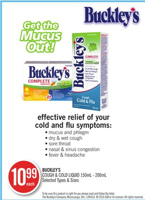Buckley's Cough & Cold Liquid
