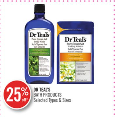 Dr Teal's Bath Products