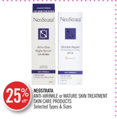 Neostrata Anti-wrinkle or Mature Skin Treatment Skin Care Products