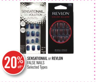Sensationail or Revlon False Nails