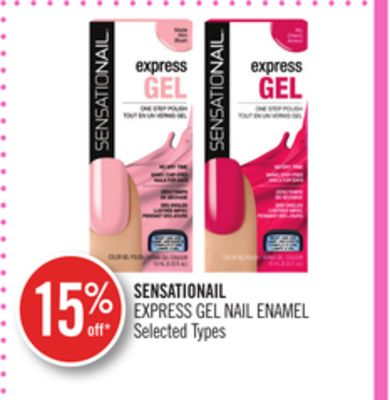 Sensationail Express Gel Nail Enamel