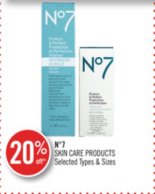 N°7 Skin Care Products
