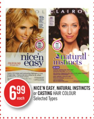 Nice'n Easy - Natural Instincts or Casting Hair Colour
